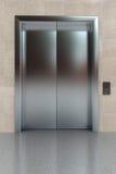 闭合的电梯 免版税库存照片