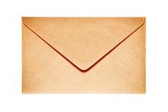 闭合的老纸信封 免版税库存图片