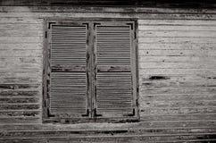 闭合的视窗 库存图片