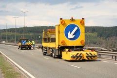 闭合的运输路线符号通信工具 库存照片