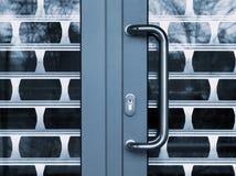 闭合的门 免版税库存图片