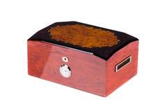闭合的雪茄盒 免版税图库摄影