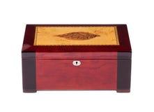 闭合的雪茄盒 免版税库存图片