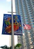 问候迈阿密 免版税库存图片