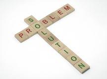 问题和解决方法 库存图片