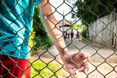 问题孩子的概念 免版税图库摄影