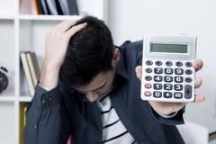 问题概念,财务 免版税图库摄影