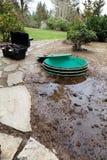 问题污水处理方式 库存照片