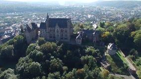 问题的Landgrafenschloss马尔堡兴趣录影  股票录像