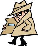 间谍 库存照片