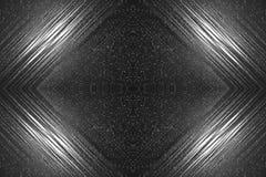 间隔发光彗星的星的黑暗的背景 免版税库存图片
