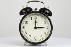 闹钟减速火箭的三时钟 免版税图库摄影