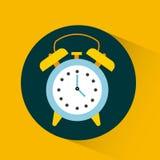 闹钟设计 向量例证