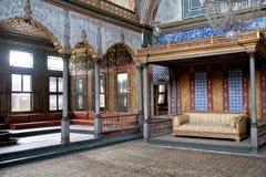 闺房伊斯坦布尔宫殿topkapi火鸡 免版税库存照片