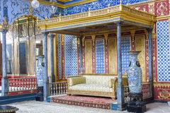 闺房在Topkapi宫殿,伊斯坦布尔,土耳其 库存照片