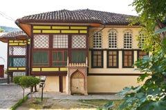 闺房大厦在可汗的宫殿在Bakhchisaray 库存照片