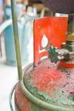 阀门气体 库存照片