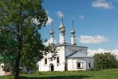 阁下的入口的教会到耶路撒冷里在苏兹达尔,俄罗斯 库存照片