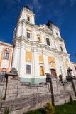 阁下的变貌的大教堂,克列梅涅茨,乌克兰 图库摄影