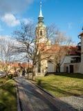 阁下的诞生的教会,洛雷塔,布拉格 库存照片