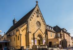 阁下耶稣玛格丽特玛丽Alacoqu的揭示的教堂 库存图片
