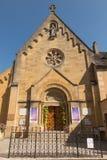 阁下耶稣玛格丽特玛丽Alacoqu的揭示的教堂 图库摄影