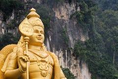 阁下murugan雕象 库存照片