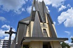 阁下Romancatolic Parish的诞生 库存照片
