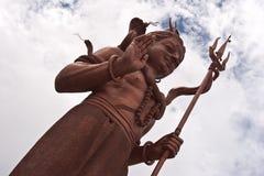 阁下shiva雕象 免版税库存图片