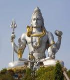 阁下shiva雕象 库存图片