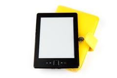 阅读程序和案件 免版税图库摄影