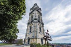 阜钟楼在比利时。 免版税库存图片