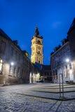 阜钟楼在比利时。 免版税库存照片