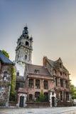阜钟楼在比利时。 图库摄影