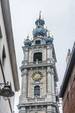 阜钟楼在比利时 免版税库存图片