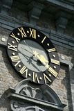 阜,比利时钟楼  免版税库存照片
