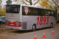 队公共汽车VFB斯图加特 库存图片