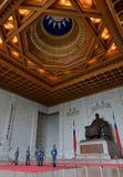仪仗队在中正纪念堂 库存图片