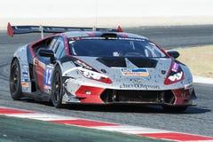 队Leipert Motorsport Lamborghini Huracan超级Trofeo 免版税库存照片