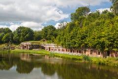 防御堡垒的废墟在加里宁格勒附近第5 免版税库存图片