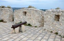 防御塔的上面 免版税库存图片