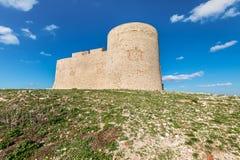 防御大别墅d `,如果在马赛,法国附近 库存图片