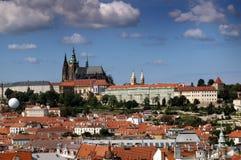 防御布拉格 免版税库存图片