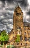 防御技术和获得联邦政府机关在科布伦茨 免版税库存照片