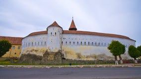 防御教会在Prejmer,罗马尼亚 免版税库存照片