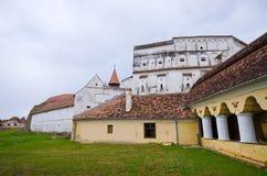 防御教会在Prejmer,罗马尼亚 库存照片
