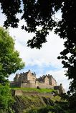 防御爱丁堡 免版税库存照片