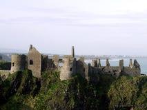 防御爱尔兰废墟 库存照片