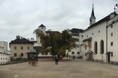 防御萨尔茨堡 免版税库存照片