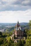 防御drachenburg德国 免版税库存图片